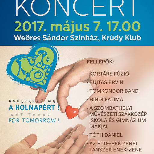 Charity Concert in Weöres Sándor Theatre